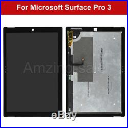 12 For Microsoft Surface Pro 3 1631 V1.1 LCD Touch Screen Digitizer Replacement