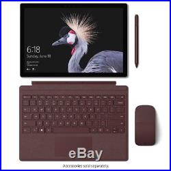2017 Microsoft Surface Pro 128GB Wi-Fi 12.3in Silver Tablet Intel Core M Latest