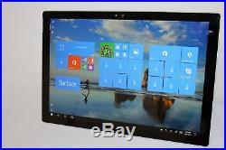 2017 Microsoft Surface Pro 5 1796 128GB SSD M3 4GB RAM 4 WARRANTY 01/09/2019
