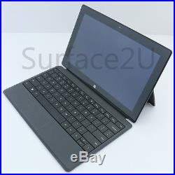 BUNDLE Microsoft Surface PRO 128GB and Type 2 Cover Keyboard with Backlighting