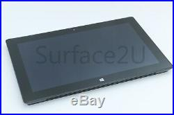 BUNDLE Microsoft Surface PRO i5 128GB Touch 2 Back-Lit Keyboard Cover & Charger