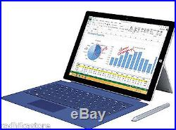 BUNDLE Microsoft Surface Pro 3 128GB SSD 4GB RAM Intel i5 with Type Cover