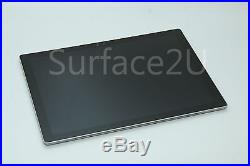 BUNDLE Microsoft Surface Pro 4 128GB 12.3in with Stylus, Keyboard and Charger VG