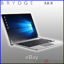 Brydge 12.3 Backlit Aluminium Keyboard Cover Case For Microsoft Surface Pro 3 4