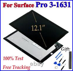 For Microsoft Surface Pro 3 1631 Lcd Touch Screen Digitizer Glass Assembly JQ