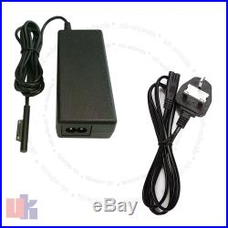 For Microsoft Surface Pro 3 Adapter Charger Power Supply 1625 MS19 with UK Cable