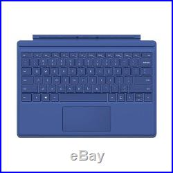 Genuine Microsoft Surface Pro 4 Type Cover Keyboard (QC7-00003) Blue VG