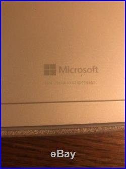 MICROSOFT SURFACE PRO 4 256GB i5 8GB RAM WITH OFFICIAL KEYBOARD WORKS GREAT