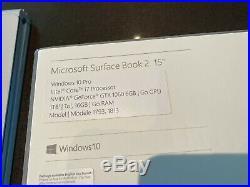 MINT Microsoft Surface Book 2 Intel Core i7 16GB RAM 1TB 15 Win 10 Pro
