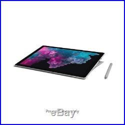 Microsoft 12.3 Touchscreen Surface Pro 6 i5-8250U 8GB 128GB SSD Platinum