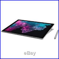 Microsoft 12.3 Touchscreen Surface Pro 6 i5-8250U 8GB 256GB SSD Platinum