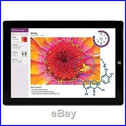 Microsoft Surface 3 10.864GB SSD 4GB RAM Atom x7-Z8700 Quad Core Windows 10 Pro
