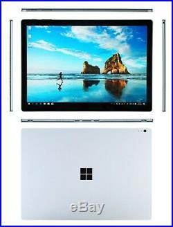 Microsoft Surface Book 13.5 256GB, i5-2.4GHz, 8GB RAM, Windows 10 PRO Fast Ship
