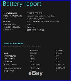 Microsoft Surface Book 13.5-Inch, Core i7, 512GB SSD, 16GB RAM, NVIDIA Graphics