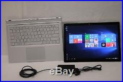 Microsoft Surface Book 13.5 i7-6600U 2.60GHz 1TB SSD 16GB GTX 965M Win 10 PRO