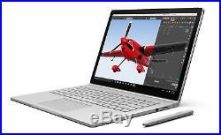Microsoft Surface Book 13.5Touch i5-6300U 2.4GH 8GB 128GB Win10 Pro-warranty