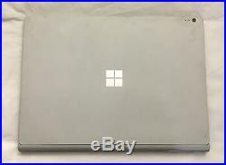 Microsoft Surface Book 13 i7-6600U 2.60GHz 16GB 512GB SSD NVIDIA GPU WQHD
