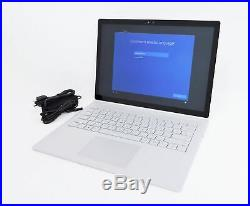 Microsoft Surface Book 1703 13.5 Core i5-6300U 8GB 128GB SSD Win 10 Pro