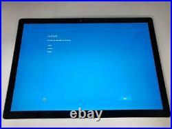 Microsoft Surface Book 1703 13.5 i7-6600U 8GB RAM 256GB SSD NO CHARGER