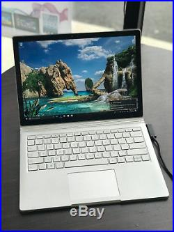 Microsoft Surface Book 1703 2.8GHz i7 256GB SSD 8GB Win 10 Pro 64 +Bonus