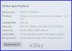 Microsoft Surface Book 2 13.5 i5-7300U 2.60GHz 8GB 256GB SSD Win 10 Pro