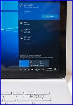 Microsoft Surface Book 2 256GB Core i7-8650U 1.9GHz 16GB 15 GTX 1060 Win 10 Pro