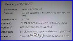 Microsoft Surface Book 2 512GB i7 16GB WIN 10 PRO FREE SHIPPING