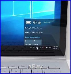 Microsoft Surface Book 256GB Core i7-6600U 2.6GHz 8GB 13.5 Windows 10 Pro