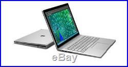 Microsoft Surface Book Laptop 13.5 Intel i7-6600U 16GB RAM 512GB SSD Win 10 Pro