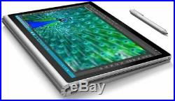 Microsoft Surface Book Performance Base i7-6600U 2.60GHz 1TB SSD 13.5 Touch Pen