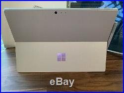 Microsoft Surface Pro 128GB 6th Gen, Wi-Fi Silver Bundle With Pen & Type Cover
