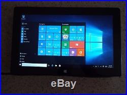 Microsoft Surface Pro 128GB SSD Intel i5-3317U 4GB 1514 Black