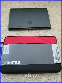Microsoft Surface Pro 1514 128GB Intel i5-3317U 1.70GHz 4GB RAM Window 10 Pro