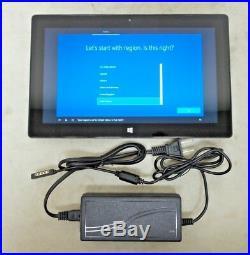 Microsoft Surface Pro 1514 Wi-Fi 10.6 4GB RAM 128GB 1.7GHz i5-3317U Win 10 Pro