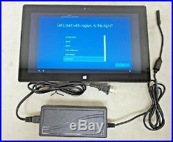 Microsoft Surface Pro 1514 Wi-Fi 10.6 4GB RAM 64GB 1.7GHz i5-3317U Win 10 Pro