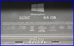 Microsoft Surface Pro (1514) Windows Tablet 64GB SSD Dark Titanium (C Grade)