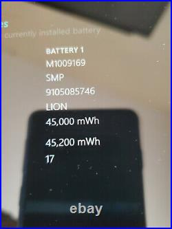 Microsoft Surface Pro 1796 i7-7th Gen 16GB, 512GB KB & PenMore Battery