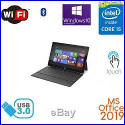 Microsoft Surface Pro 2 10.6 64GB 128GB Wifi Core i5 MS Office 2019 bundle