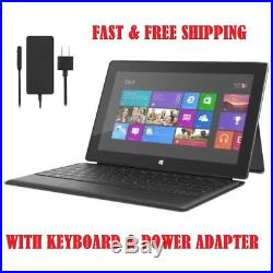 Microsoft Surface Pro 2 Tablet 10.6 in i5-4300U 4GB 128GB Win 10 with Keyboard