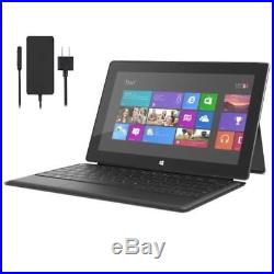 Microsoft Surface Pro 2 Tablet BUNDLE Intel i5 128GB Win10 Pro Keyboard + AC