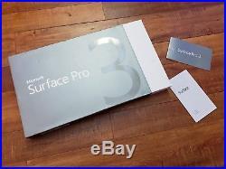 Microsoft Surface Pro 3 12 (128GB, Intel Core i5 4th Gen, 1.9GHz, 4GB) with Box