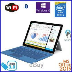 Microsoft Surface Pro 3 12 Core i5/i7 256GB 8GB RAM Win10 MS Office 2019 bundle