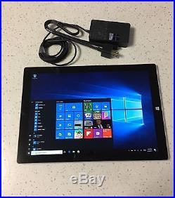 Microsoft Surface Pro 3 12 i5-4300U 256GB 8GB RAM Wins 10 Pro Wi-Fi Tablet
