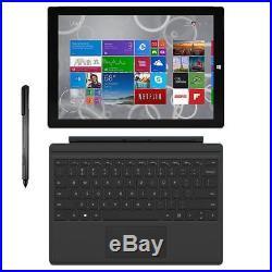 Microsoft Surface Pro 3 12 i7-4650U 1.7GHz 8GB 256GB SSD Windows 10 Pro