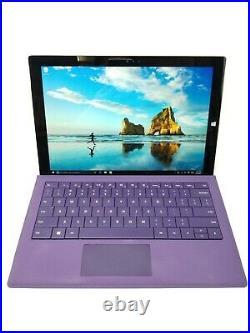 Microsoft Surface Pro 3 1631 i5-4300U 1.9GHz 4GB RAM 128GB SSD (See Notes)