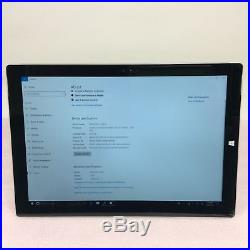 Microsoft Surface Pro 3 1631 i5-4300U 2.5GHz 8GB 256GB Win. 10Pro Crack Screen