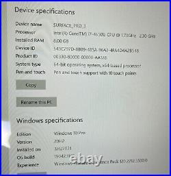 Microsoft Surface Pro 3 256GB, Wi-Fi, 12 inch Silver