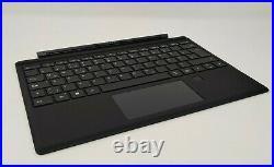 Microsoft Surface Pro 3/4/5/6/7 Type Cover Fingerprint ID QWERTZ schwarz