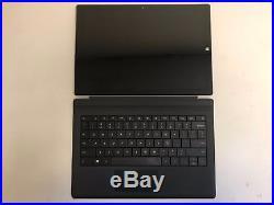 Microsoft Surface Pro 3 MQ2-00001 12 Tablet i7 CPU 256GB 8GB with Black Keyboard