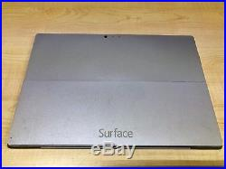Microsoft Surface Pro 3 Model 1631 128GB Wi-Fi Only Silver
